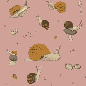 Pink on Snails
