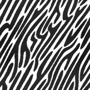 Zebra Stripes - Jagged