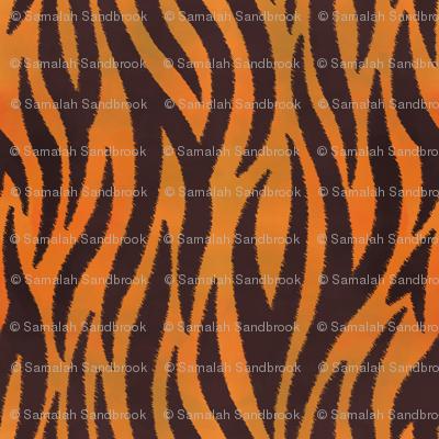 Tiger Stripes - Jagged