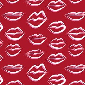 bright_red_kiss_me_lips