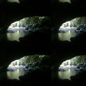 river cave exit