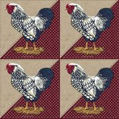 Rrooster_barn_red_dots_vintage_triangle_shop_thumb