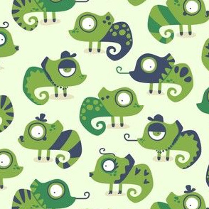 Greenery Chameleon