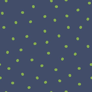 Greenery Chameleon - dots