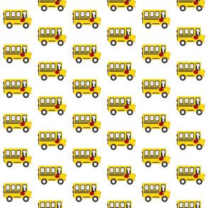 schoolbus 3 - on white