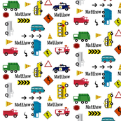 cars & trucks  multi-metro PERSONALIZED Matthew