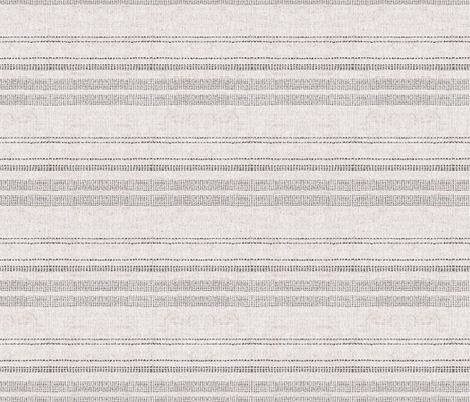 FRENCH_LINEN_WOVEN_STRIPE_NEUTRAL fabric by holli_zollinger on Spoonflower - custom fabric
