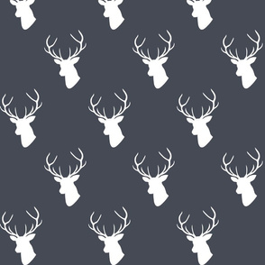 Custom Dark Navy Deer