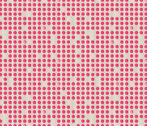 Off Register Dot fabric by cynthiafrenette on Spoonflower - custom fabric
