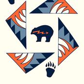 Tribal Mountain Bear