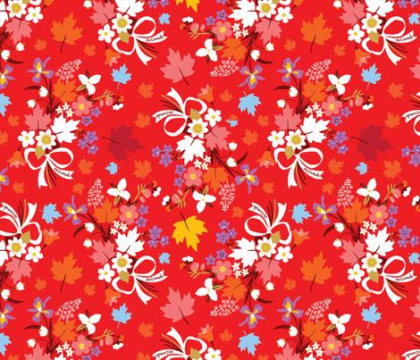 Provincial Posie fabric by cynthiafrenette on Spoonflower - custom fabric