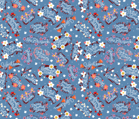 Pretty Provinces fabric by cynthiafrenette on Spoonflower - custom fabric