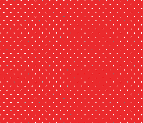 Maple Dot, Flag fabric by cynthiafrenette on Spoonflower - custom fabric