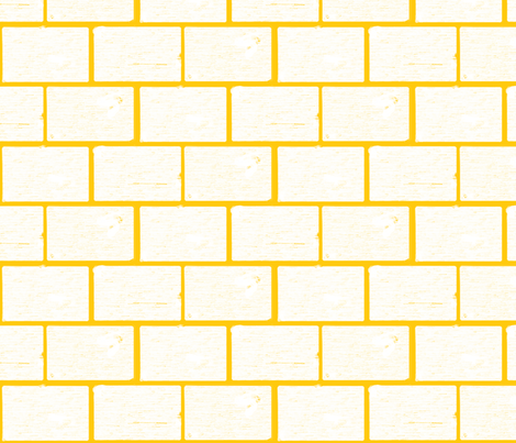 bricked fabric by mandimlynch on Spoonflower - custom fabric