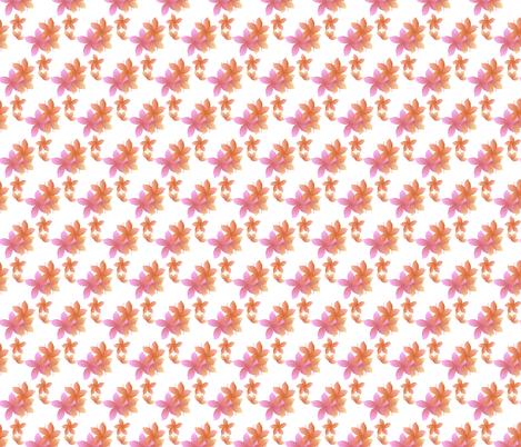 Hibiscus Dream fabric by sopupuka on Spoonflower - custom fabric