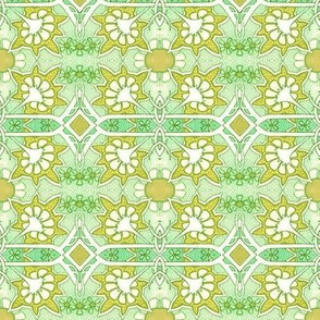 Dotty Green Spring Thing