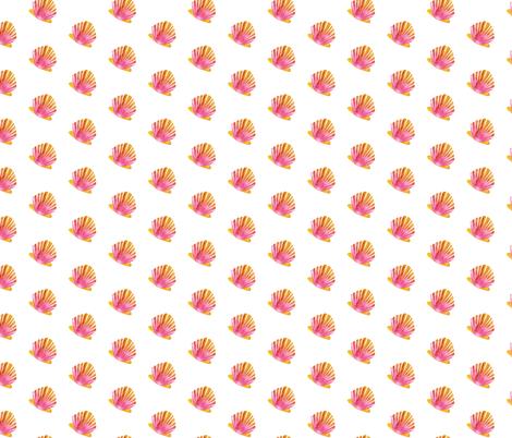 Sunrise Shells fabric by sopupuka on Spoonflower - custom fabric