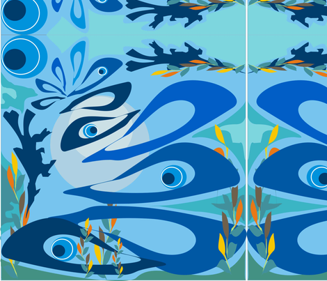 mer_et_coraux_10 fabric by emmaswing on Spoonflower - custom fabric
