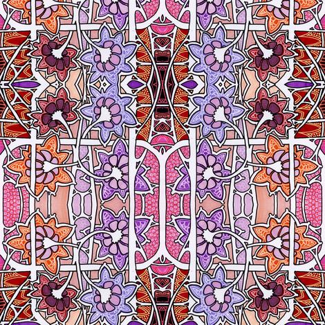 Cartoon Garden fabric by edsel2084 on Spoonflower - custom fabric