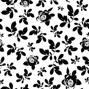 Mono Floral | Black and White