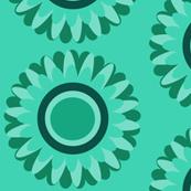 Green pop daisy