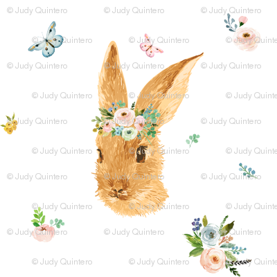 "7"" Springtime Bunny"