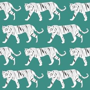 Tiger Teal