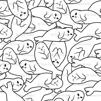 Baby Seals - White Version