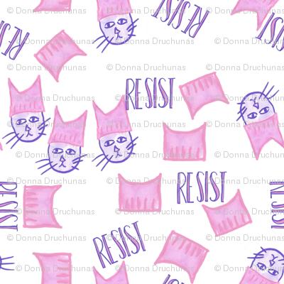 Resist Pussyhat Pussycat