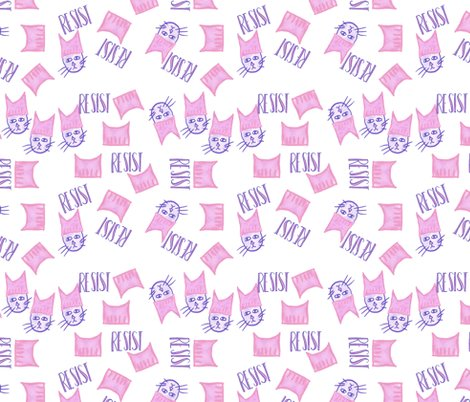 Resist_pussyhat_fabric_tiling_shop_preview