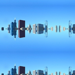 Cityscape Reflection
