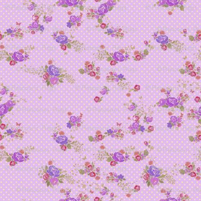 Pindot roses - lilac