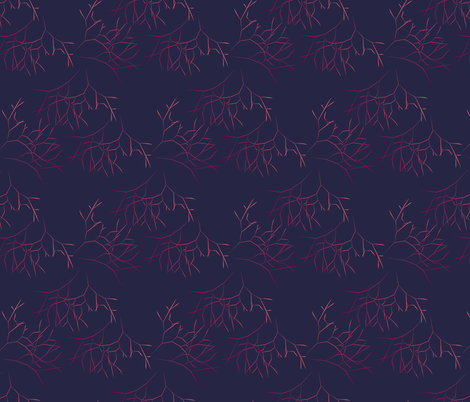 Ombre Limu fabric by sopupuka on Spoonflower - custom fabric