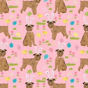 brussels griffon easter fabric spring pastel dog design