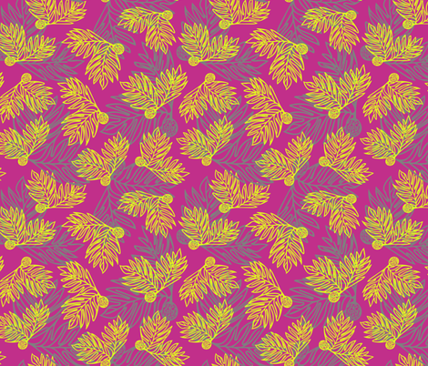 Ulu Forest fabric by sopupuka on Spoonflower - custom fabric