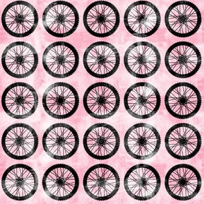 wheel || pink - motocross dirt bike