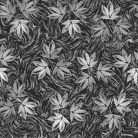 Heavy Metal Marijuana fabric by camomoto on Spoonflower - custom fabric