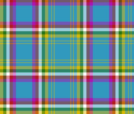 "Yukon province official tartan, 12"" bright fabric by weavingmajor on Spoonflower - custom fabric"