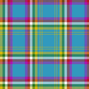 "Yukon province official tartan, 12"" bright"