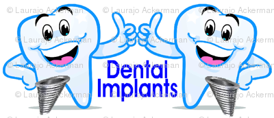 Dental Implants Happy Teeth Thumbs Up