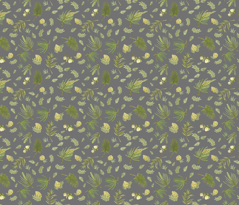 Sierra - pebble fabric by cinneworthington on Spoonflower - custom fabric