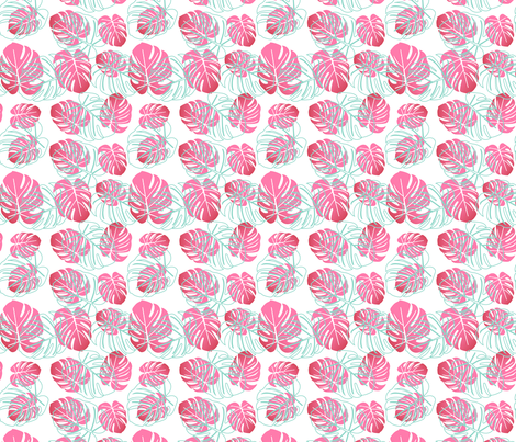 Lūʻau Decoration fabric by sopupuka on Spoonflower - custom fabric