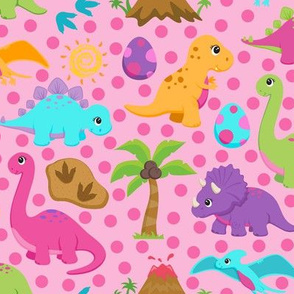 Girly Dinosaurs