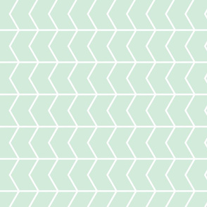 chevron (90) // mint
