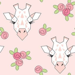 large giraffe-and-roses-on-soft-pink