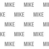 mike custom name fabric grey personalized name fabric
