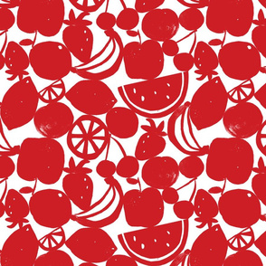 FRUIT WALL red