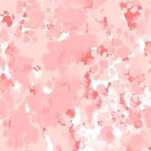 blush paints painterly abstract fabric interior design homewares nursery decor print