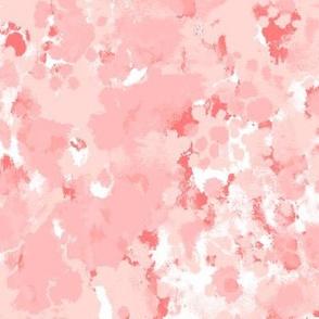 blush paints painterly abstract fabric interior design homewares nursery decor print