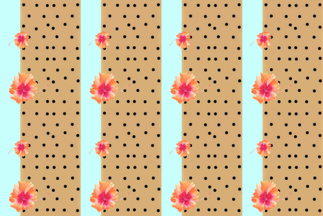 1930s Boho Safari fabric by hunnellekari on Spoonflower - custom fabric
